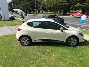2016 Renault Clio X98 Series IV Expression EDC Beige 6 Speed Sports Automatic Dual Clutch Hatchback Croydon Maroondah Area Preview