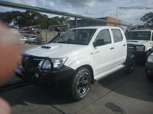 2013 Toyota Hilux White Automatic Utility Fawkner Moreland Area Preview