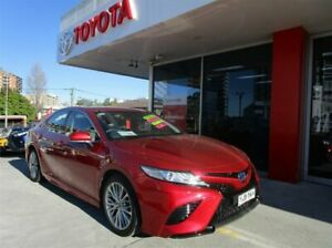 2017 Toyota Camry AXVH71R SL (Hybrid) Emotional Red Continuous Variable Sedan Hurstville Hurstville Area Preview