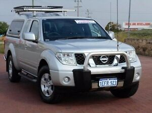 2013 Nissan Navara D40 S6 MY12 ST-X King Cab White 6 Speed Manual Utility Spearwood Cockburn Area Preview