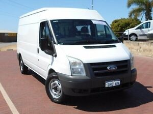 2010 Ford Transit VM High Roof LWB White 6 Speed Manual Van Spearwood Cockburn Area Preview