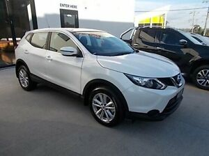 2017 Nissan Qashqai J11 ST White 1 Speed Constant Variable Wagon Burwood Whitehorse Area Preview