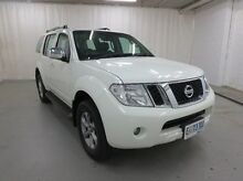 2011 Nissan Pathfinder R51 MY10 ST-L White 5 Speed Sports Automatic Wagon Glebe Hobart City Preview