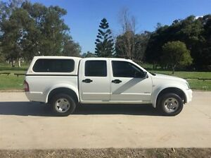 2005 Holden Rodeo RA LX White 4 Speed Automatic Crewcab Salisbury Brisbane South West Preview