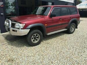 1998 Nissan Patrol St Lpg/petrol Red 4 Speed Automatic Wagon Arundel Gold Coast City Preview