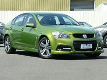 2014 Holden Commodore VF MY15 SV6 Green 6 Speed Sports Automatic Sedan Sunbury Hume Area Preview