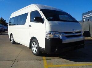 2014 Toyota Hiace HIACE BUS SLWB 3.0L T DIESEL AUTOMATIC C/BUS 7N41130 001 French Vanilla Automatic Melton Melton Area Preview