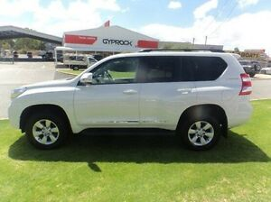 2014 Toyota Landcruiser Prado KDJ150R MY14 Altitude White 5 Speed Sports Automatic Wagon Mandurah Mandurah Area Preview