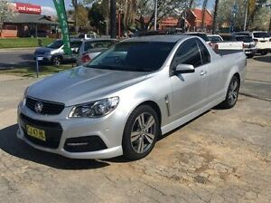 2014 Holden Ute VF MY14 SV6 Ute Silver 6 Speed Sports Automatic Utility Wodonga Wodonga Area Preview