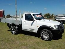 2006 Nissan Patrol GU ST (4x4) White 5 Speed Manual Cab Chassis Pakenham Cardinia Area Preview