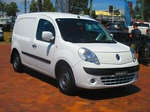 2012 Renault Kangoo X61 MY11 White 4 Speed Automatic Van Baulkham Hills The Hills District Preview