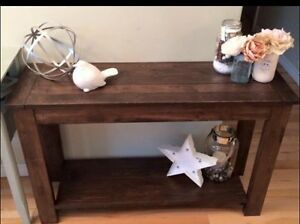 Rustic Country Chic Sofa Table Belleville Belleville Area image 4