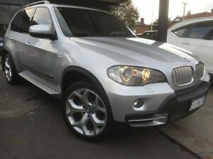 2009 BMW X5 E70 MY10 xDrive35d Steptronic Silver 6 Speed Sports Automatic Wagon North Hobart Hobart City Preview