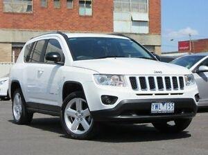 2012 Jeep Compass MK MY12 Limited CVT Auto Stick White 6 Speed Constant Variable Wagon Preston Darebin Area Preview