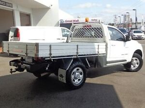 2014 Holden Colorado RG MY14 LX White 6 Speed Manual Cab Chassis Morwell Latrobe Valley Preview