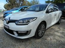 2015 Renault Megane III K95 Phase 2 White 6 Speed Sports Automatic Dual Clutch Wagon Berwick Casey Area Preview