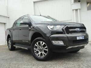 2016 Ford Ranger PX MkII Wildtrak Double Cab Black 6 Speed Sports Automatic Utility Bundoora Banyule Area Preview