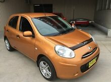 2012 Nissan Micra  Orange Manual Hatchback East Kempsey Kempsey Area Preview