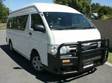 2011 Toyota Hiace KDH223R MY11 Commuter High Roof Super LWB White 4 Speed Automatic Bus Kedron Brisbane North East Preview
