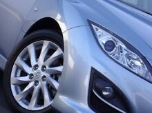 2012 Mazda 6 GH1052 MY12 Touring Blue 5 Speed Sports Automatic Hatchback Kings Park Blacktown Area Preview