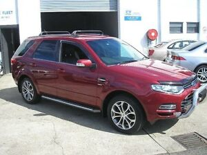 2013 Ford Territory SZ Titanium Burgundy Auto Sports Mode Wagon Woodbine Campbelltown Area Preview