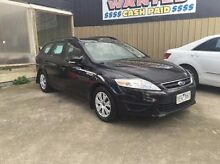 2010 Ford Mondeo MC LX PwrShift TDCi Black 6 Speed Sports Automatic Dual Clutch Wagon Maidstone Maribyrnong Area Preview