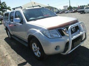 2011 Nissan Navara D40 MY11 ST-X 550 Silver 7 Speed Sports Automatic Utility Mackay Mackay City Preview