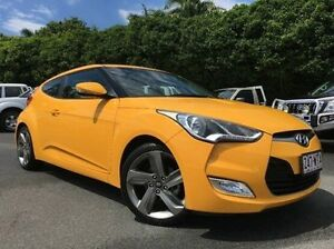 2014 Hyundai Veloster FS2 Coupe Yellow 6 Speed Manual Hatchback West Mackay Mackay City Preview