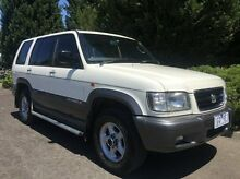 1999 Holden Jackaroo L8 SE White 4 Speed Automatic Wagon Vermont Whitehorse Area Preview