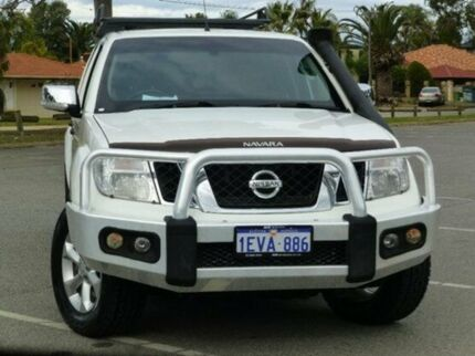 2012 Nissan Navara D40 S5 MY12 ST-X 550 Silver 7 Speed Auto Seq Sportshift Utility Bassendean Bassendean Area Preview