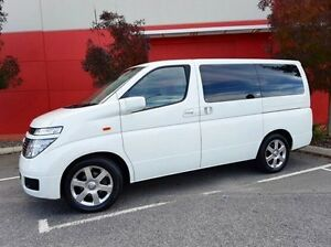 2004 Nissan Elgrand White Automatic Wagon Cannington Canning Area Preview