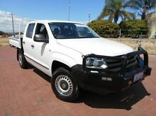 2012 Volkswagen Amarok 2H MY12.5 TDI400 4Mot White 6 Speed Manual Cab Chassis Spearwood Cockburn Area Preview