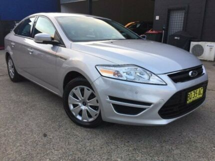 2012 Ford Mondeo MC LX Moondust Silver 6 Speed Sports Automatic Hatchback Kings Park Blacktown Area Preview