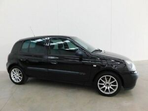 2004 Renault Clio X65 Phase 3 Dynamique Black 5 Speed Manual Hatchback Braeside Kingston Area Preview