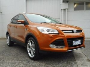 2015 Ford Kuga TF MY15 Titanium AWD Gold 6 Speed Sports Automatic Wagon Bundoora Banyule Area Preview