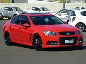 2014 Holden Commodore VF MY15 SS V Redline Red 6 Speed Manual Sedan Diggers Rest Melton Area Preview