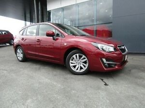 2016 Subaru Impreza G4 MY16 2.0i Lineartronic AWD Red 6 Speed Constant Variable Hatchback Earlville Cairns City Preview