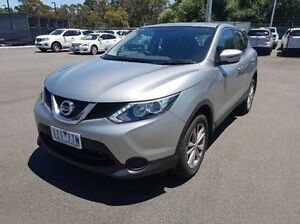 2016 Nissan Qashqai J11 ST Silver Constant Variable Wagon Ringwood East Maroondah Area Preview