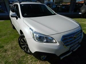 2015 Subaru Outback White Constant Variable Wagon Victoria Park Victoria Park Area Preview