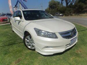 2011 Honda Accord 8th Gen MY10 V6 Luxury White 5 Speed Sports Automatic Sedan Mandurah Mandurah Area Preview