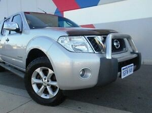 2012 Nissan Navara D40 S5 MY12 ST-X 550 Silver 7 Speed Sports Automatic Utility Bunbury Bunbury Area Preview