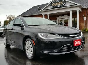 2016 Chrysler 200 LX, Dealer Demo, 2.4L, 9-Spd Auto, Bluetooth,