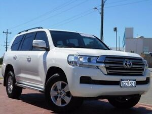 2016 Toyota Landcruiser VDJ200R GXL White 6 Speed Sports Automatic Wagon Spearwood Cockburn Area Preview