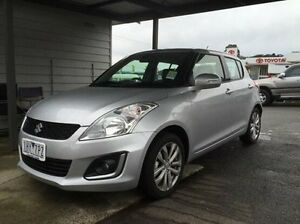 2016 Suzuki Swift FZ MY15 GL Navigator Silver 4 Speed Automatic Hatchback Lilydale Yarra Ranges Preview