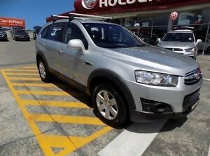 2012 Holden Captiva CG Series II 7 SX Silver 6 Speed Sports Automatic Wagon Gateshead Lake Macquarie Area Preview