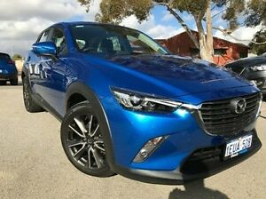 2015 Mazda CX-3 DK2W76 sTouring SKYACTIV-MT Blue 6 Speed Manual Wagon Melville Melville Area Preview