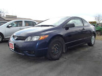 2007 Honda Civic 2 door 5 speed certified e tested