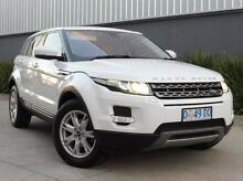 2013 Land Rover Range Rover Evoque L538 MY13.5 White 6 Speed Sports Automatic Wagon South Melbourne Port Phillip Preview
