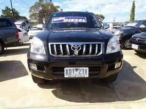 2009 Toyota Landcruiser Prado KDJ120R 07 Upgrade GXL (4x4) Ebony 5 Speed Automatic Wagon Melton Melton Area Preview