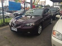 2007 Mazda 3 BK10F2 Maxx Sport Purple 4 Speed Sports Automatic Sedan Maidstone Maribyrnong Area Preview